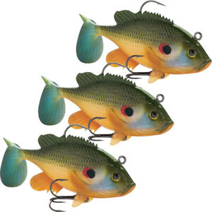 Storm Wildeye Live Redear Fishing Lures 3 Pack