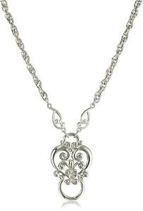 1928 Jewelry Heart Eyeglass Holder Pendant Necklace 28