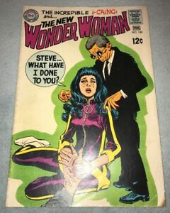 WONDER WOMAN #180 KEY SILVER AGE 2nd  I-CHING AND DR CYBER APPEARANCES!