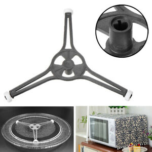Triple Arm Microwave Glass Turntable Plate Holder Ring Roller Support Stand New