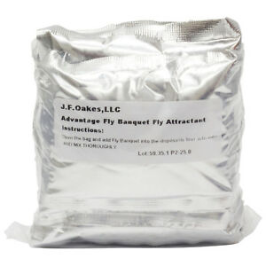 Advantage Fly Banquet Lure 10 Pack Fly Attractant For Fly Traps Fly Lure