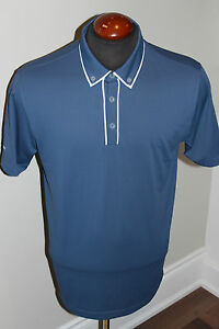 NEW MENS NIKE TOUR PERFORMANCE GOLF POLO SHIRT WITH DRI FIT MSRP $90 WITH LOGO