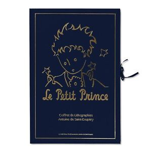 Saint Exupéry Portfolio of 12 signed lithographs quot;The Little Princequot; $3500.00