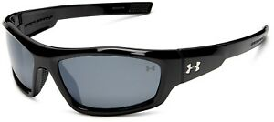 Under Armour Power Sunglasses Black - Gray Polarised Multiflection Lens