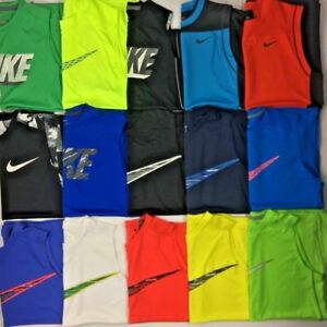 Boy's Youth Nike Dry Dri-Fit Sleeveless Shirt