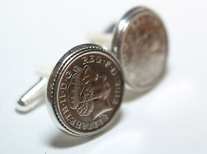 Wedding Anniversary Cufflinks Steel 2007
