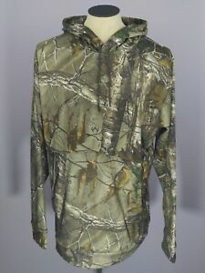 NWT $80 Men's UNDER ARMOUR STORM Real Tree All Camo Hunting HOODIE XLT XL TALL