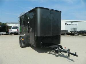 6 x 12ft Enclosed Cargo Utility Offroad Jeep Equipment Camping Trailer Dallas TX