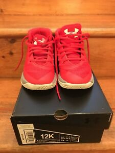 NEW Kids Boys Under Armour Shoes UA PS STEPH CURRY 3 Athletic Youth Size 12K