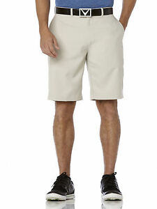 Callaway Golf Men's Chevron Flat-Front Short