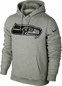 Nike Seattle Seahawks Fly Over Camo Logo Men's Pullover Hoodie NEW