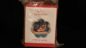 Hallmark Christmas Ornament 2013 Event Exclusive TROPICAL HOLIDAY Cookie Cutter