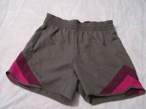 NIKE WOMEN'S ATHL. RUNNING SHORTS X-SMALL BROWN PURPLE DRI-FIT  NEW WITH TAGS