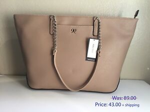 Women Tote Bags Top Handle Handbag Ladies Designer Shoulder Purses NINE WEST