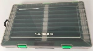 SHIMANO SHM-37TW JERKBAIT FISHING LURE TACKLE STORAGE BOX UTILITY