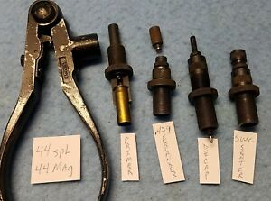 Vintage Lyman Ideal 310 Reloading Tool wDies for 44spl and 44mag