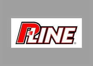 P-Line decals stickers bass boat tournament sponsor fishing line rod reel