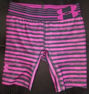 BRAND NEW!! Under Armour girls fitted *heat gear* shorts *size XS*