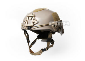 NEW FMA Hunting Tactical EX Ballistic Helmet ABS For Airsoft Paintball TAN