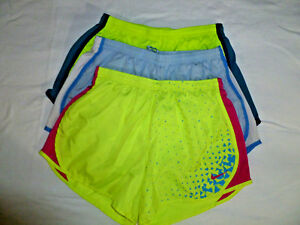 Lot of 3~Girl's Nike Dri-Fit Tempo Running Shorts Size X-Large