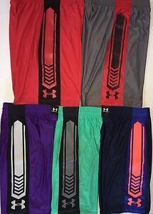 Men's Under Armour Loose Fit Basketball Shorts Heat Gear