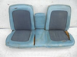 1968 Mustang Bench Seat  Frame with Arm Rest