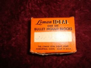 Nice Lyman Ideal single cavity Bullet Mold #311467 30 cal 177gr GC bullets!!!