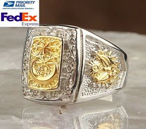 Turkish jewelry 925 Sterling Silver no stone eagle Mens Mans Ring ALL SİZE us 4