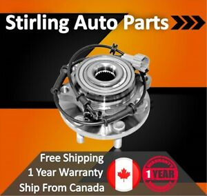 2012 For Nissan Rogue Rear Wheel Bearing and Hub Assembly x1 From 62012 FWD