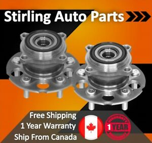 2017 For Nissan Rogue Rear Wheel Bearing and Hub Assembly x2 USA Built FWD