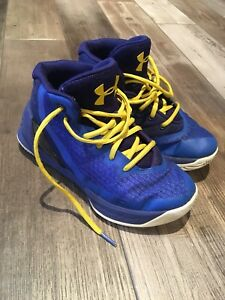 Under Armour Boys Steph Curry High top Basketball Shoes Size 1