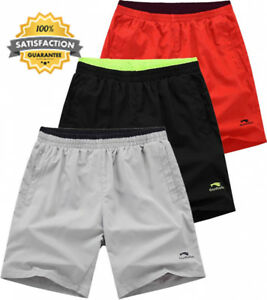 donhobo Mens Sports Running Shorts Light Weight Gym Workout With Pocket