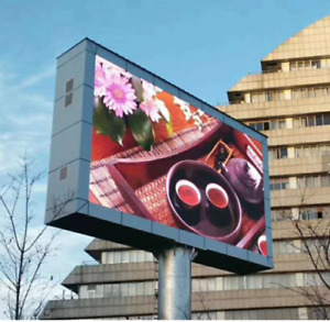 Commercial Outdoor LED HD Video Billboard Sign P6 Full Color 7ftx7ft
