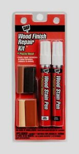 DAP Wood Finish Repair Kit Stain Markers Wax Stick Touch Up Scratch Filler 97500