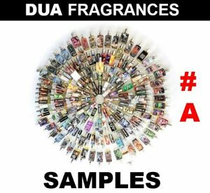 DUA Fragrances INSPIRED EXPRESSION Series 2mL AUTHENTIC Samp