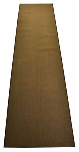 Premium Quality Custom Size Solid Color Moss Green Runner Rug Non Skid 26