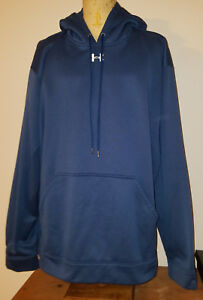 Under Armour UA Mens ColdGear Loose Fit Hoodie 3XL Blue