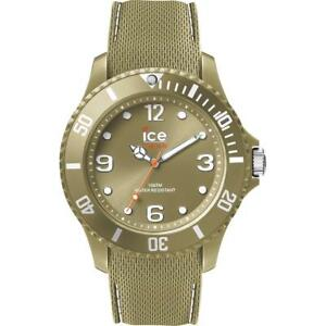 Mens Wristwatch ICE WATCH SIXTY NINE IC.014554 Silicone Khaki Sub 100mt NEW