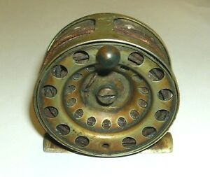 Vintage Rochester Fly Fishing Reel No. 1 Ideal #80 1910 New York Antique