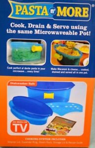 Microwave Pasta Cooker- 5 Pieces- Pasta N More