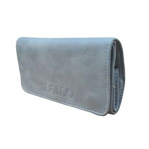 Tobacco Pouch Case Wallet Rolling Cigarette Gray Color Rserving Fressness