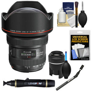 Canon EF 11-24mm f4.0L F4 L USM Zoom Lens Kit for Rebel T7i T6 EOS 80D 5D 6D 7D