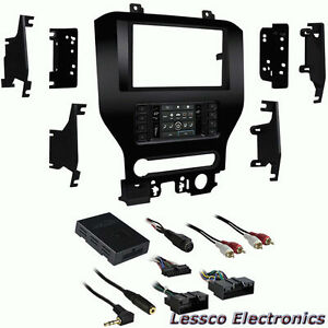Metra 99-5840CH SingleDouble DIN Dash Kit for Select 2015-Up Ford Mustang W