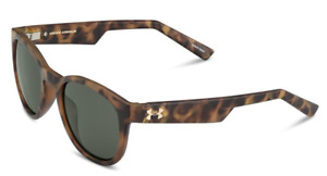 Under Armour Roll Out Sunglasses - Satin Crystal TortoiseGreen Lens - $109.99