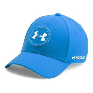 Under Armour Men's UA Jordan Speith Tour Cap Mako BlueWhite Hat FREE SHIPPING