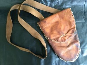 Leather Possibles Bag With Spoon - Re-enactors