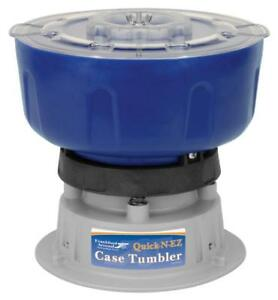 Frankford Arsenal Quick-N-EZ 110V Vibratory Case Tumbler for Cleaning and...