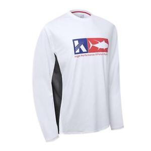 Performance Long Sleeve Shirt UPF 50 Mesh Quick Dry Fit Cooling Running...