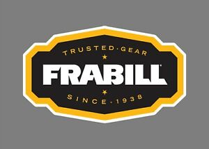FRABILL decals stickers bass boat tournament sponsor fishing bait lures