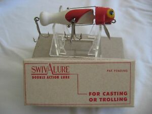 Vintage 1940's Lamothe Stokes Swiv-A-Lure wBox NOS Fishing Lure